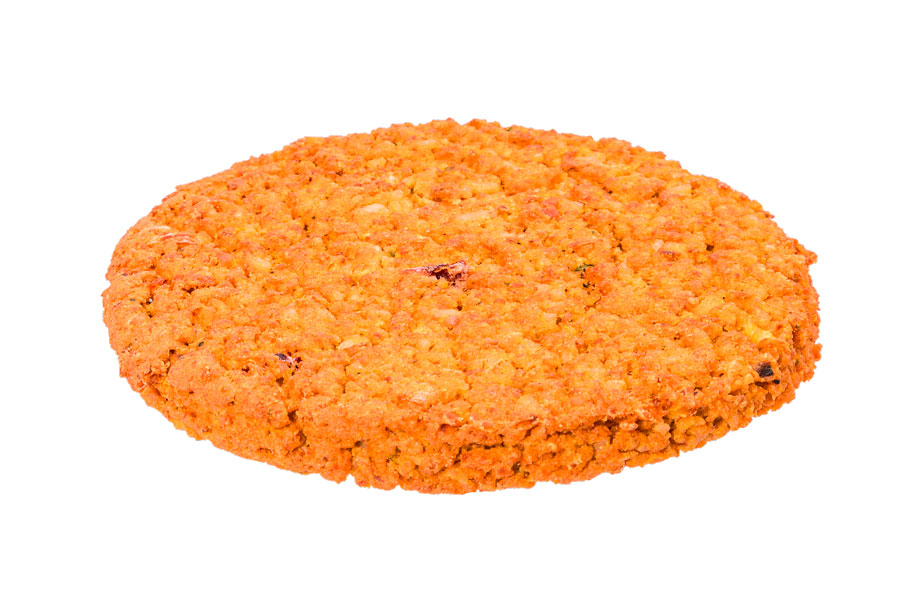 Lentil and basmati rice patty