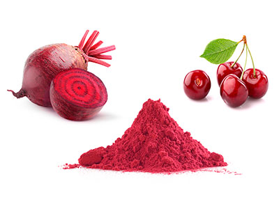 cherry and beetroot extract